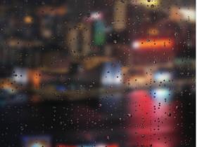 【分享】单页超酷的js特效(雨滴,粒子滚动)
