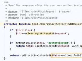 【整理】Laravel 5 根据用户类型自动跳转 重写redirectPath方法