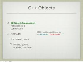 【整理】C++ mongodb 增删改查 操作