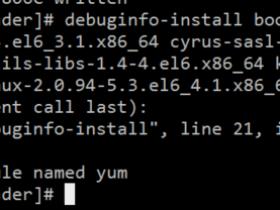 【已解决】debuginfo-install ImportError: No module named yum