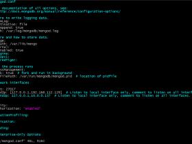 【整理】CentOS 6.5 mongodb 3.2增加权限配置