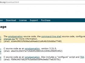 【原创】CentOS 6.5编译安装SQLite 3以及C++调用SQLite 3