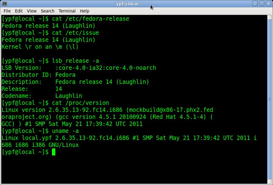 linux查看版本信息多种方式
